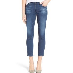AG ADRIANO GOLDSCHMIED prima crop cigaret jeans 31